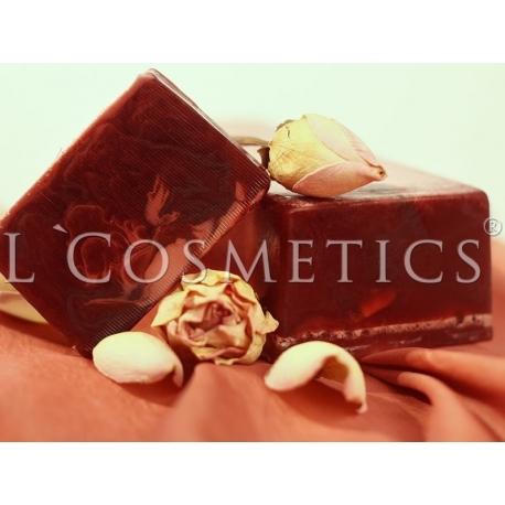Мыло с глиной Королевская роза, 1 кг