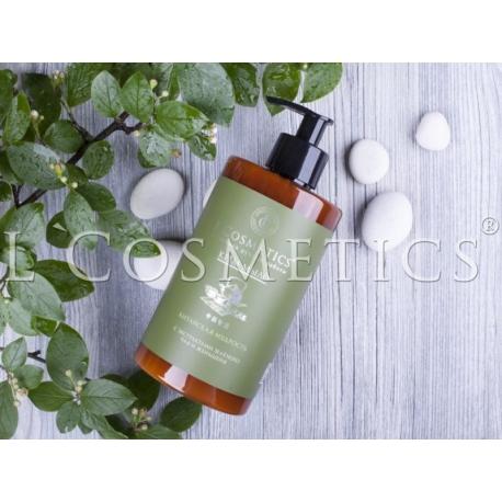 Крем-мыло Крем-мыло Китайская мудрость с экстрактом зеленого чая и женьшеня, 450 мл