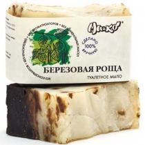 Дегтярное мыло Березовая роща, 75 гр